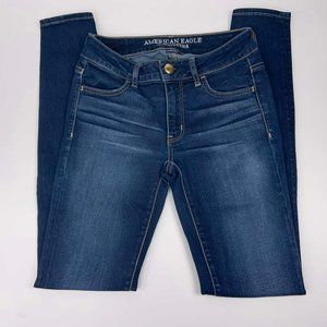 American Eagle Outfitters Jeans Sz 2L Long Jegging